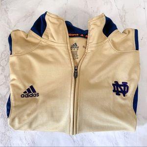 Notre Dame Adidas Clima Lite Zip Up Jacket